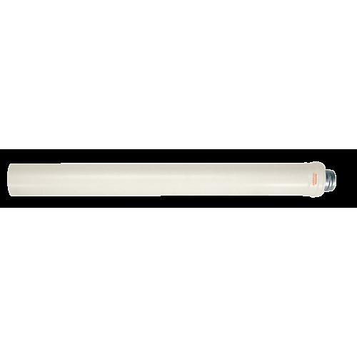 Удлинитель (труба) L = 1m 60 / 100mm конденсационный фото