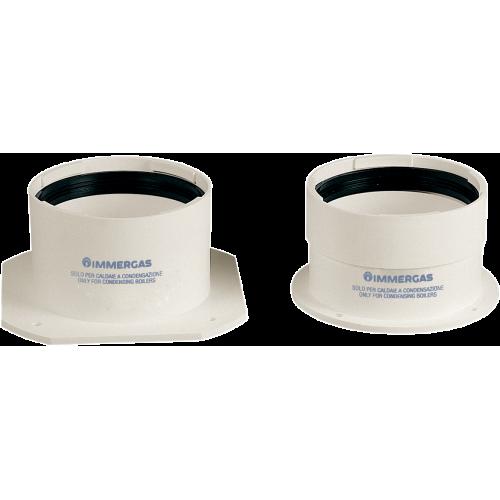 Модель Комплект прямих фланців D=80 мм для конденсаційного котла Immerg - Аксесуари