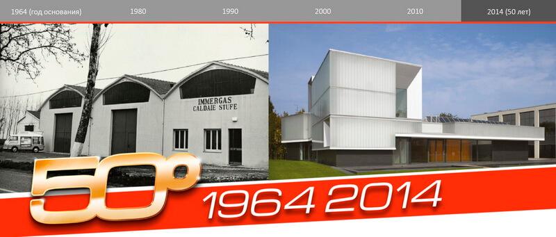 50 летний юбилей компании Immergas - 2014 год